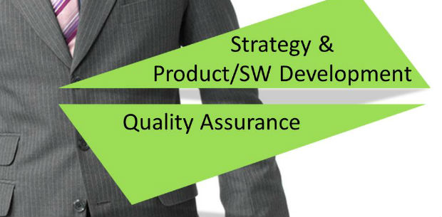 Strategy & Product/SW Development, Quality Assurance